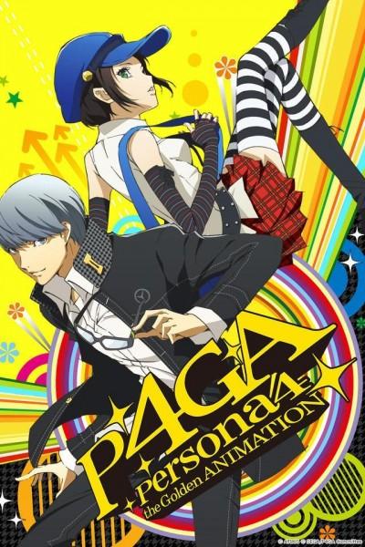 Caratula, cartel, poster o portada de Persona 4 the Golden Animation