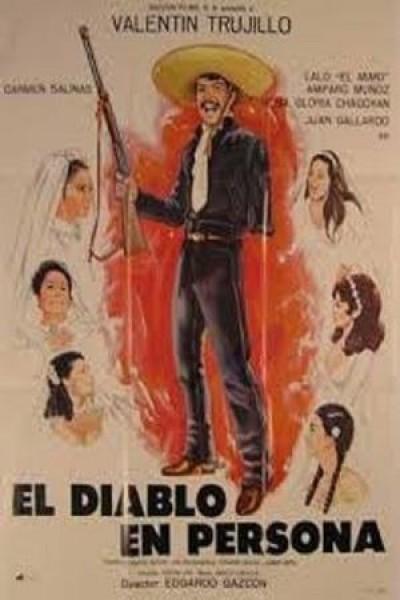 Caratula, cartel, poster o portada de El diablo en persona