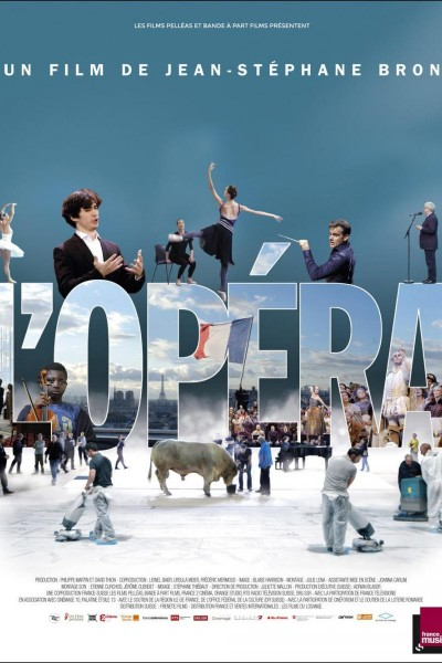 Caratula, cartel, poster o portada de La Ópera de Paris
