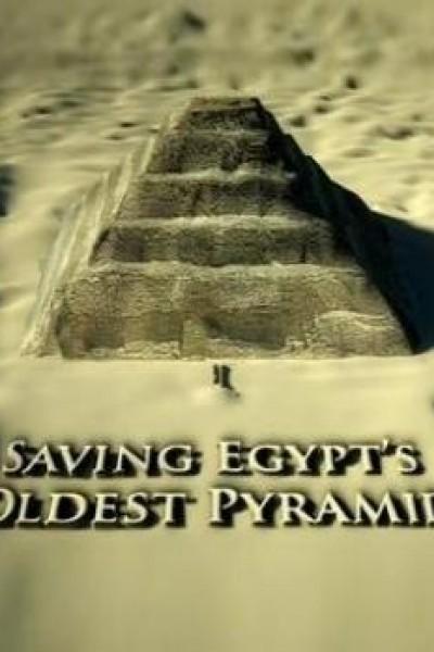 Caratula, cartel, poster o portada de Rescatando la pirámide más antigua de Egipto