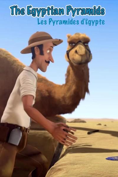 Caratula, cartel, poster o portada de Las pirámides de Egipto
