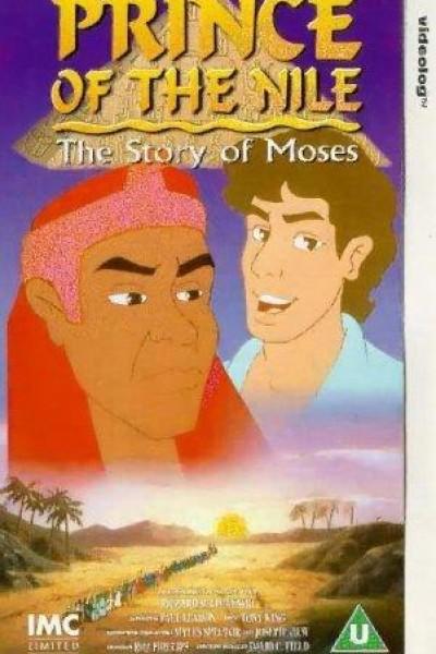 Caratula, cartel, poster o portada de Moisés, el príncipe de Egipto