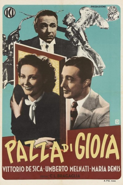 Caratula, cartel, poster o portada de Loca de alegría