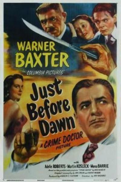 Caratula, cartel, poster o portada de Just Before Dawn