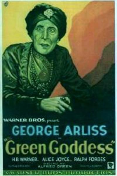 Caratula, cartel, poster o portada de The Green Goddess
