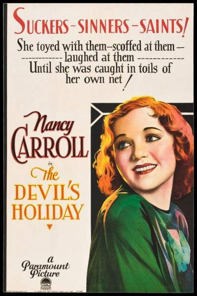 Caratula, cartel, poster o portada de The Devil\'s Holiday