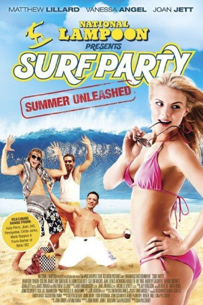 Caratula, cartel, poster o portada de Surf Party