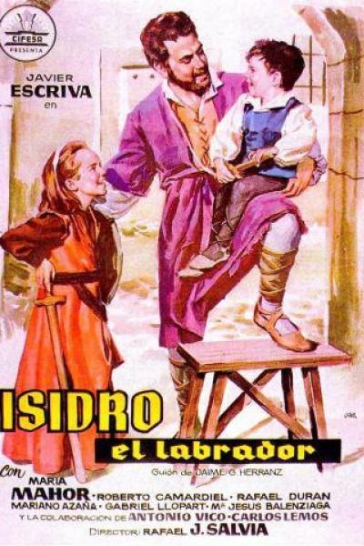Caratula, cartel, poster o portada de Isidro, el labrador