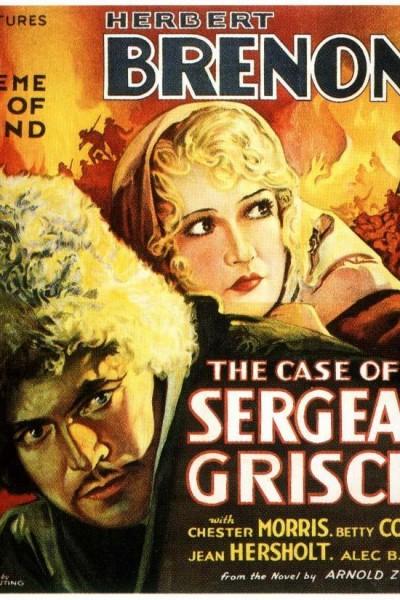 Caratula, cartel, poster o portada de The Case of Sergeant Grischa