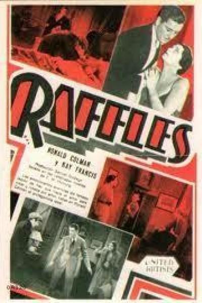 Caratula, cartel, poster o portada de Raffles