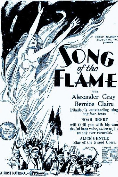 Caratula, cartel, poster o portada de The Song of the Flame