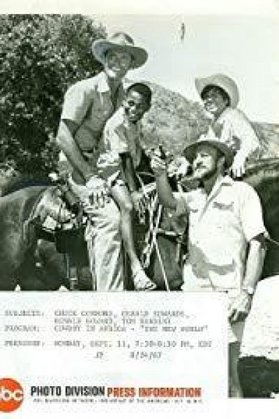 Caratula, cartel, poster o portada de Cowboy en África