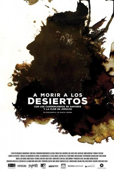 Caratula, cartel, poster o portada de A morir a los desiertos