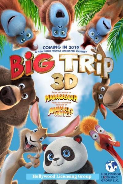 Caratula, cartel, poster o portada de The Big Trip