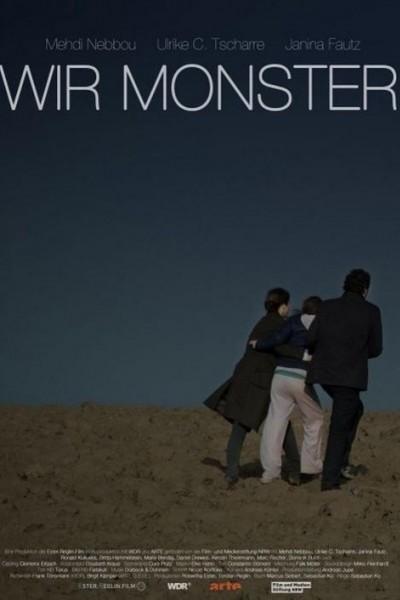 Caratula, cartel, poster o portada de Nosotros los monstruos