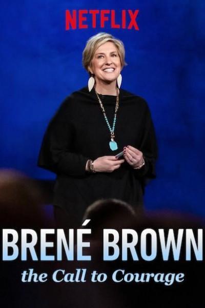Caratula, cartel, poster o portada de Brené Brown: Sé valiente