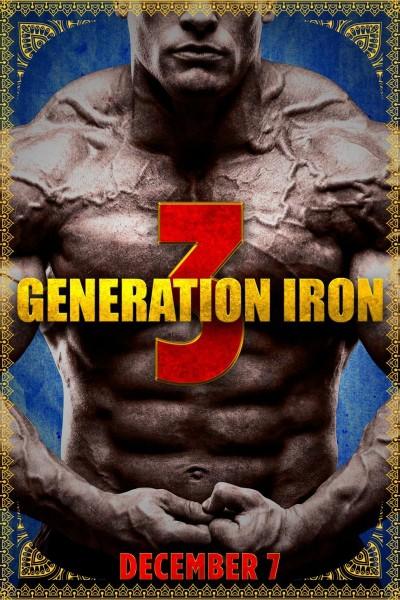 Caratula, cartel, poster o portada de Generation Iron 3