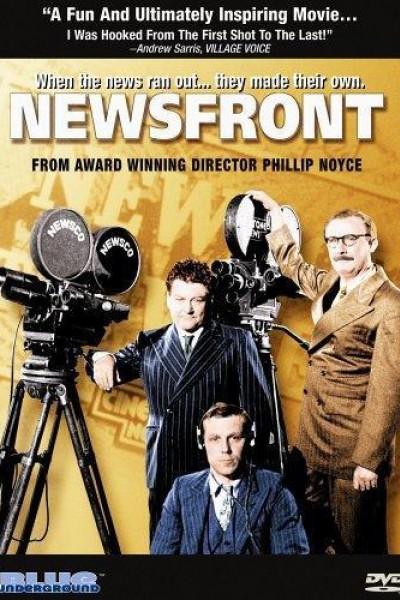 Caratula, cartel, poster o portada de Newsfront