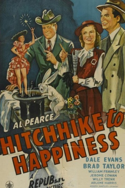 Caratula, cartel, poster o portada de Hitchhike to Happiness