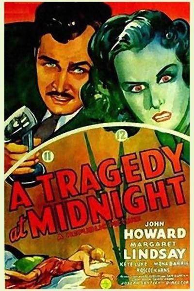 Caratula, cartel, poster o portada de A Tragedy at Midnight