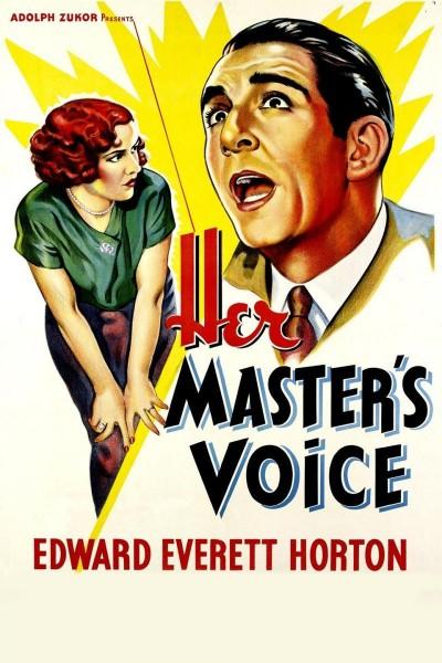 Caratula, cartel, poster o portada de Her Master\'s Voice