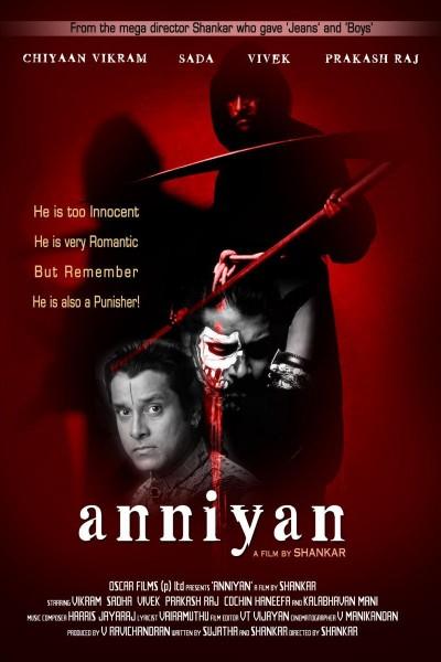 Caratula, cartel, poster o portada de Anniyan