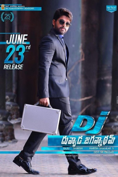 Caratula, cartel, poster o portada de DJ (Duvvada Jagannadham)
