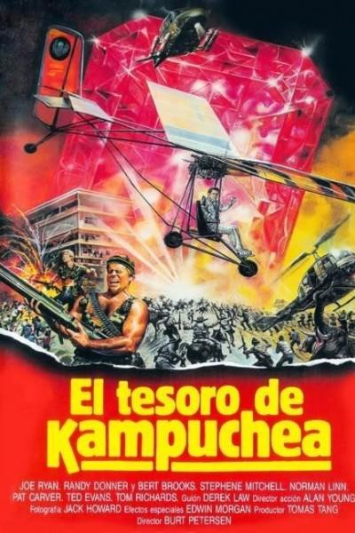 Caratula, cartel, poster o portada de El tesoro de Kampuchea