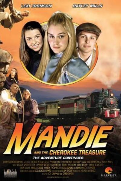 Caratula, cartel, poster o portada de Mandie and the Cherokee Treasure