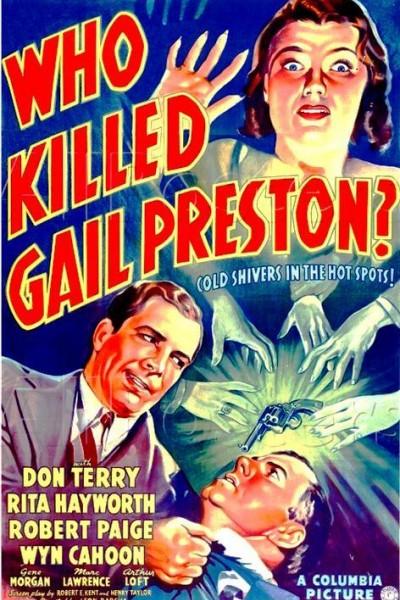 Caratula, cartel, poster o portada de Who Killed Gail Preston?
