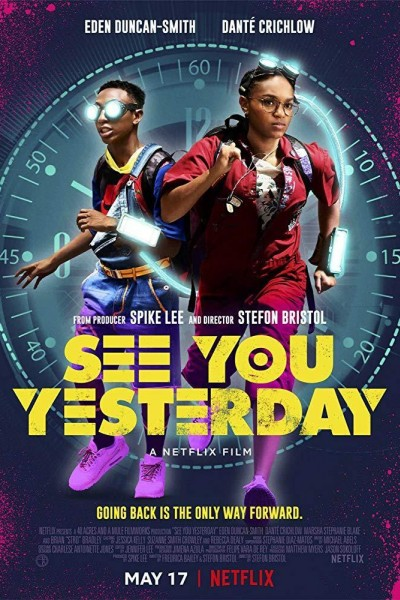 Caratula, cartel, poster o portada de See You Yesterday