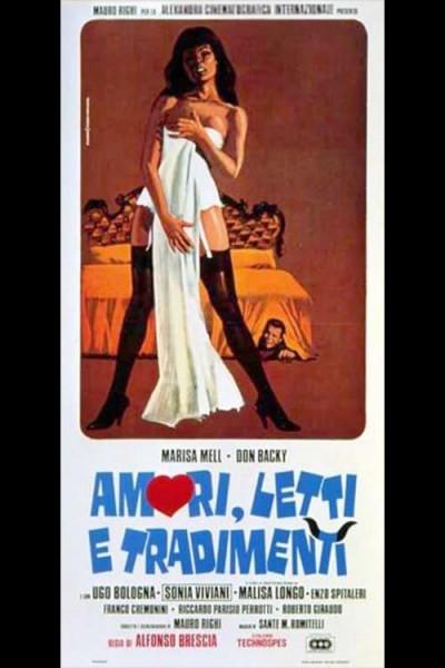 Caratula, cartel, poster o portada de Amori, letti e tradimenti