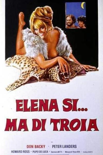 Caratula, cartel, poster o portada de Elena si, ma.... di Troia