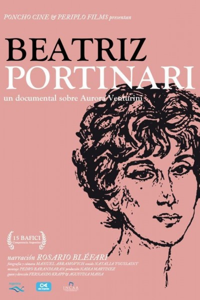 Caratula, cartel, poster o portada de Beatriz Portinari - Un documental sobre Aurora Venturini