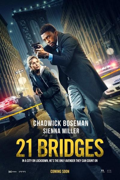 Caratula, cartel, poster o portada de 21 Bridges