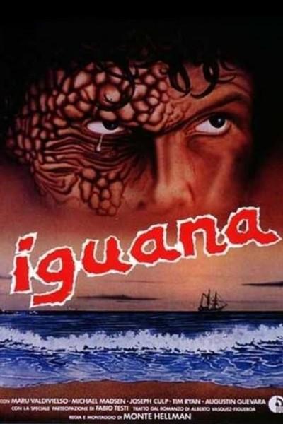 Caratula, cartel, poster o portada de La iguana
