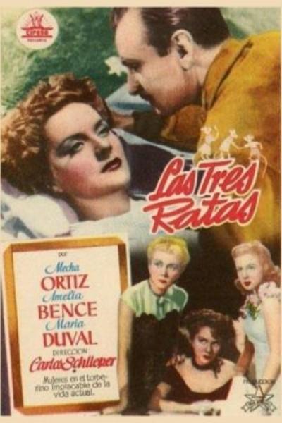 Caratula, cartel, poster o portada de Las tres ratas