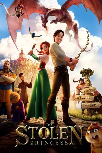 Caratula, cartel, poster o portada de La princesa encantada