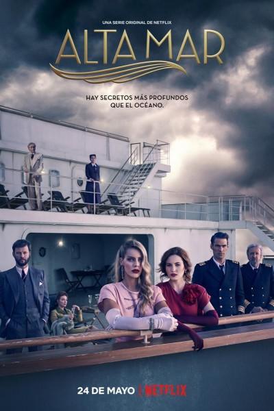 Caratula, cartel, poster o portada de Alta mar