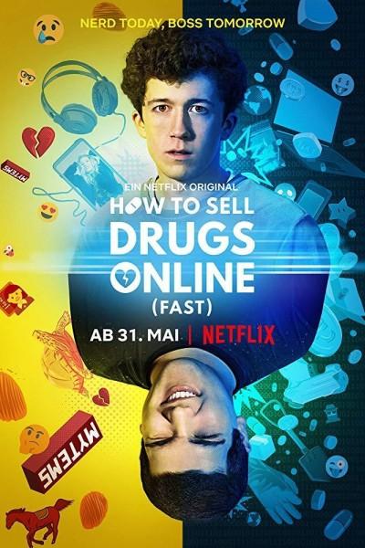Caratula, cartel, poster o portada de Cómo vender drogas online (a toda pastilla)