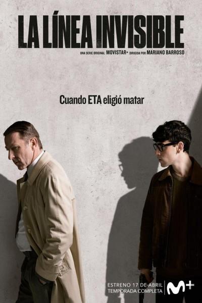 Caratula, cartel, poster o portada de La línea invisible