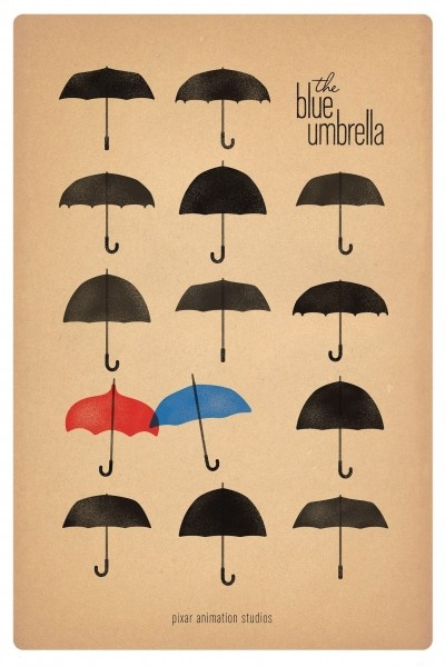 Caratula, cartel, poster o portada de Azulado (The Blue Umbrella)