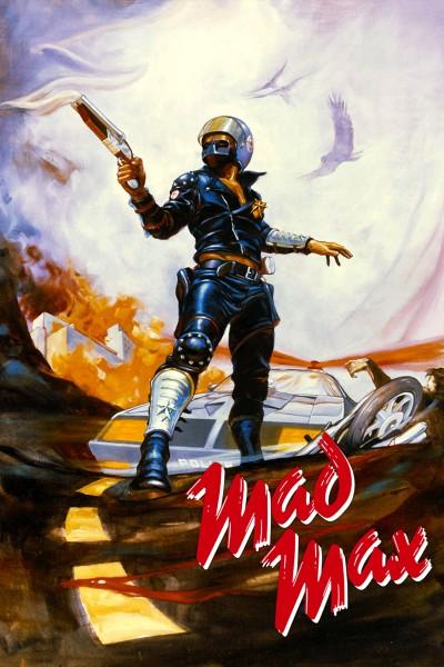 Caratula, cartel, poster o portada de Mad Max. Salvajes de autopista
