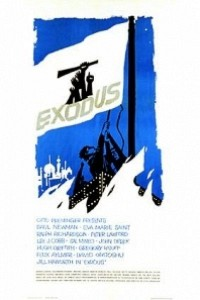Caratula, cartel, poster o portada de Éxodo