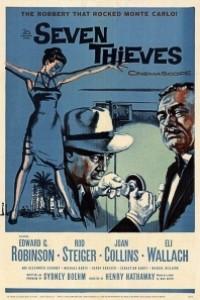 Caratula, cartel, poster o portada de Siete ladrones