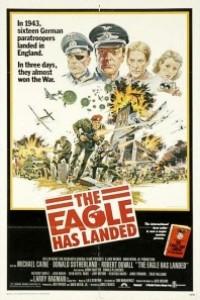 Caratula, cartel, poster o portada de Ha llegado el águila