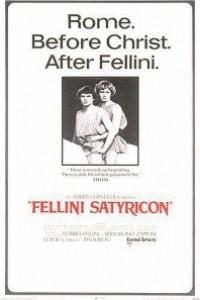 Caratula, cartel, poster o portada de Satiricón (Satyricon)