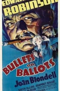 Caratula, cartel, poster o portada de Balas o votos