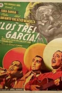 Caratula, cartel, poster o portada de Los tres García