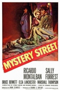 Caratula, cartel, poster o portada de La calle del misterio